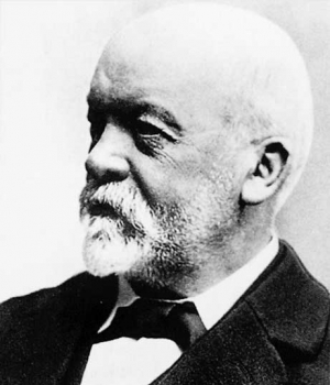 Gottlieb Daimler, who helped pioneer the internal combustion engine.