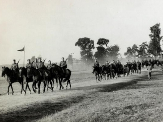Polish cavalry moves to the front to meet German invasion (Credit: Popperfoto/Getty Images)