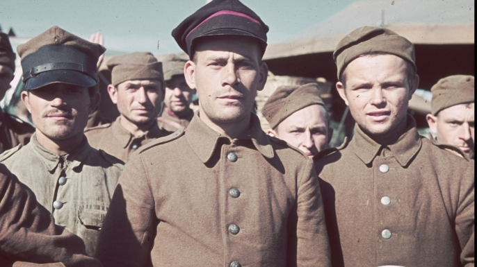 Polish soldiers captured by the Germans during invasion of Poland, September 1939
