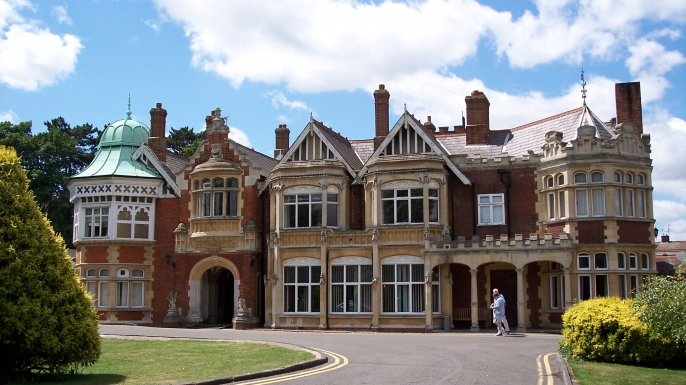 Thousands of men and women worked as codebreakers during World War II at England's Bletchley Park.