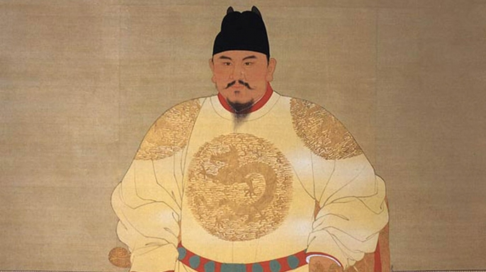 Zhu Yuanzhang after assuming power as the Hongwu Emperor
