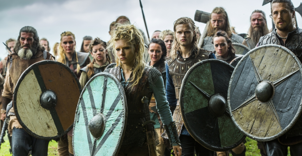 SECRETS OF THE VIKINGS - VIDEO:  shields maidens