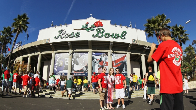 Rose Bowl Stadium, Pasadena, California