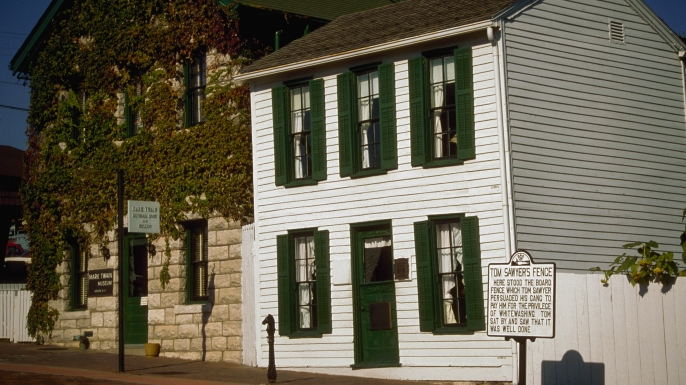 Mark Twain Museum and Tom Sawyer House (Credit:Dave G. Houser/Corbis)