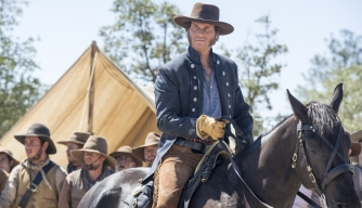 Texas Rising, Bill Paxton as Sam Houston