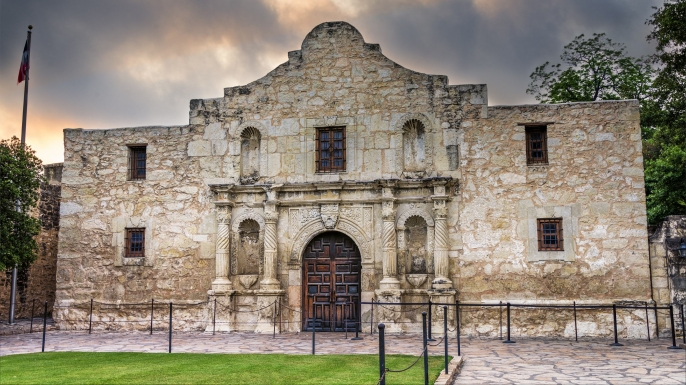 The Alamo - a historical attraction