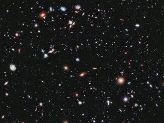 "Hubble's ""Extreme Deep Field"" image, 2012."