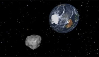 Asteroid Set For a Close Encounter With Earth