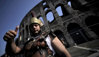Corrupt Roman Gladiators Busted by Cops