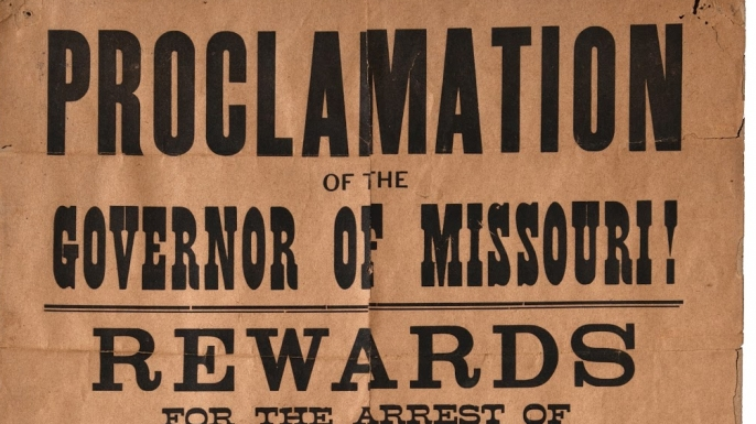 Jesse James Wanted Poster Goes Up for Auction History in the – Real Wanted Posters