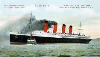 The Sinking of RMS Lusitania, 100 Years Ago