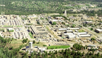 Aeriel View of the Los Alamos National Library.