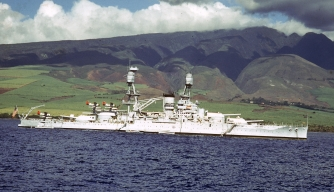 S Oklahoma near Hawaii, September 1940
