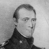 Portrait purported to be William B. Travis, date unknown.
