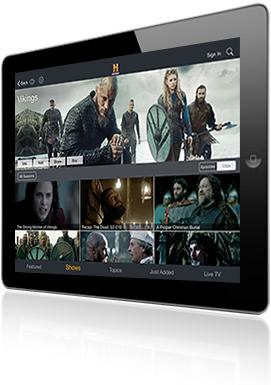 HISTORY App for iPad