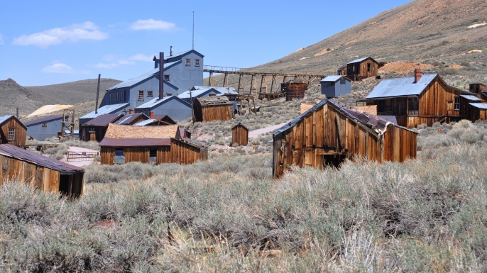 list abandoned towns bodie