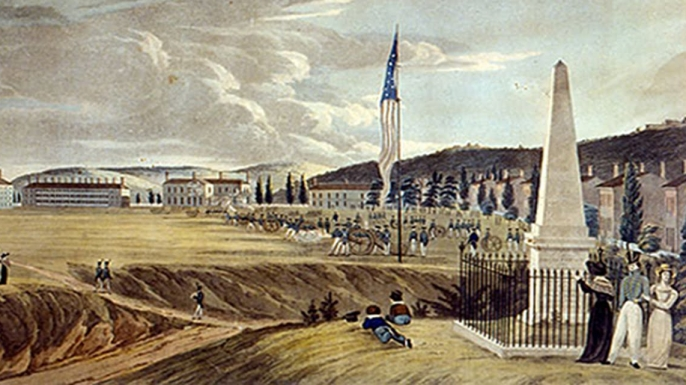 West Point, 1820s