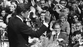 JFK Tells West Berliners That He Is One of Them, 50 Years Ago