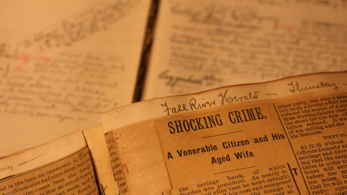 Two journals kept by Lizzie Borden's lawyer surfaced in March.