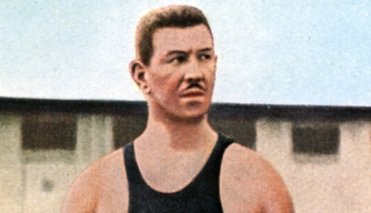 German swimmer Emil Rausch
