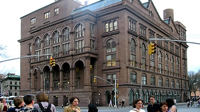 Cooper union, education