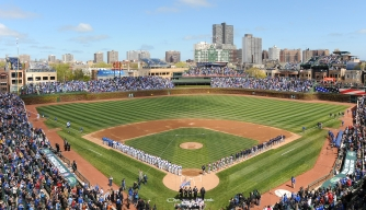 chicago cubs, wrigley field