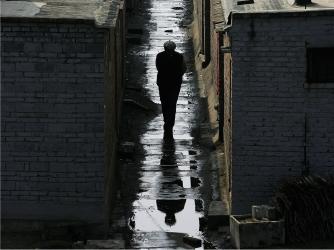 Hutong alleyway, Beijing.