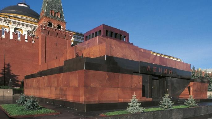 Lenin's Tomb, Moscow, Vladimir Lenin