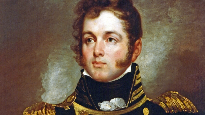 U.S. Navy Master Commandant Oliver Hazard Perry