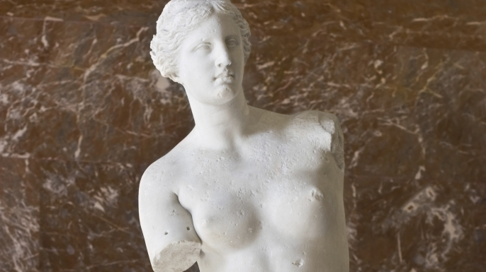 venus de milo, ancient greece