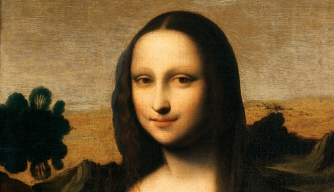 The portrait known as the Isleworth Mona Lisa.