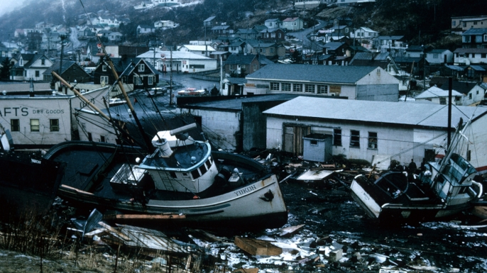 The great alaska earthquake 50 years ago history in the headlines