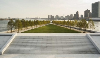 FDR Memorial Opens in New York