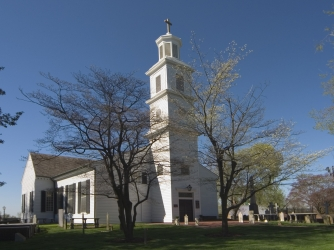St. John's Church in Richmond, where Henry gave his speech. (Credit: MyLoupe/UIG via Getty Images))