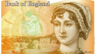 Jane Austen Wins a Place on UK Currency