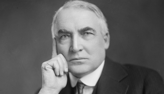 warren g harding, love letters