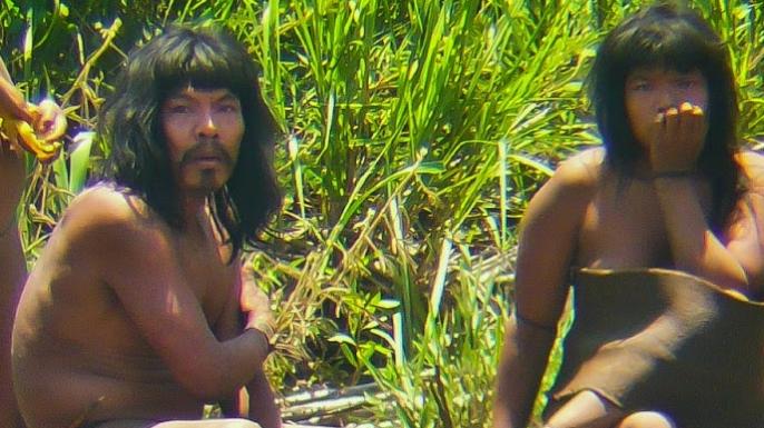 Members of the Mashco-Piro tribe in 2011