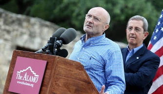 Phil Collins Has Always Remembered the Alamo