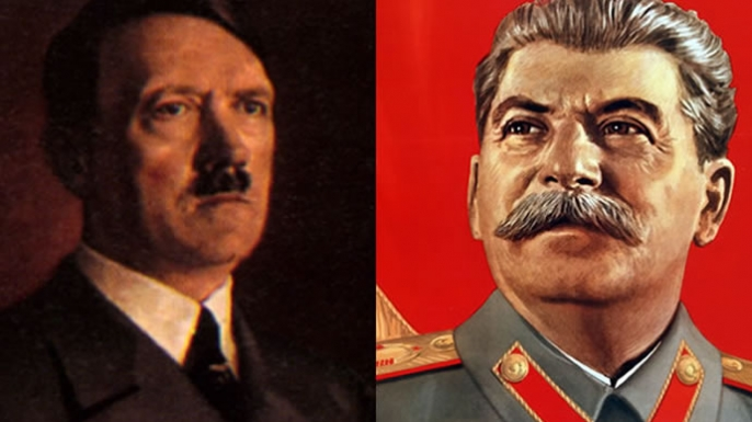 "a comparison of hitler and stalin As nightmares go, the similarities are striking adolf hitler and joseph stalin gave us the word ""totalitarian"" no regimes, ever, had encompassed with such totality the peoples under their sway few had such mad ideas, none the means so intensively to stuff their subjects' heads with them none."