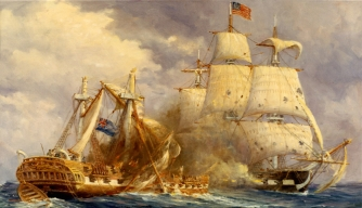USS Constitution vs. HMS Guerriere