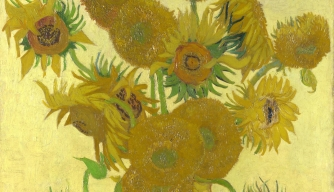 Van Gogh Painted Mutant Sunflowers