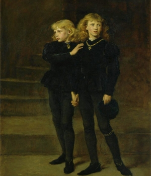 "Edward and Richard, the ""Princes in the Tower."""