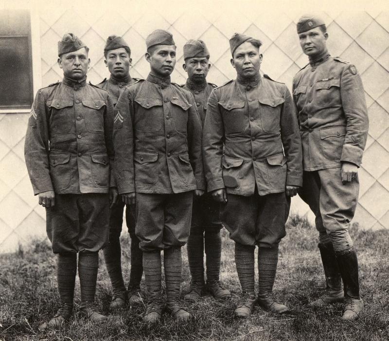 World War I's Native American Code Talkers