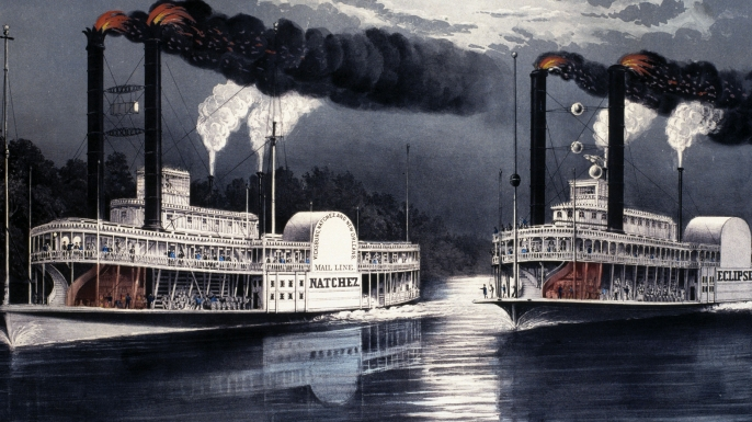 riverboat, mississippi river