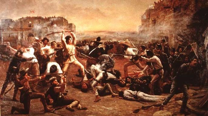 """""""The Fall of the Alamo"""""""