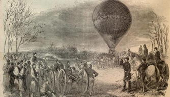 list civil war weapons balloons