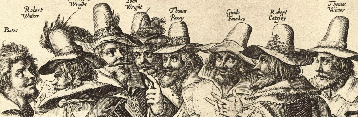 The Gunpowder Plot conspirators.