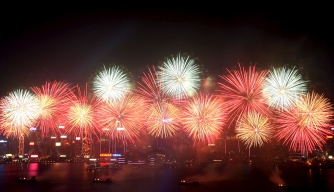 Credit: YM YIK/epa/Corbis, fireworks