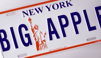 "Why is New York City nicknamed the ""Big Apple""?"