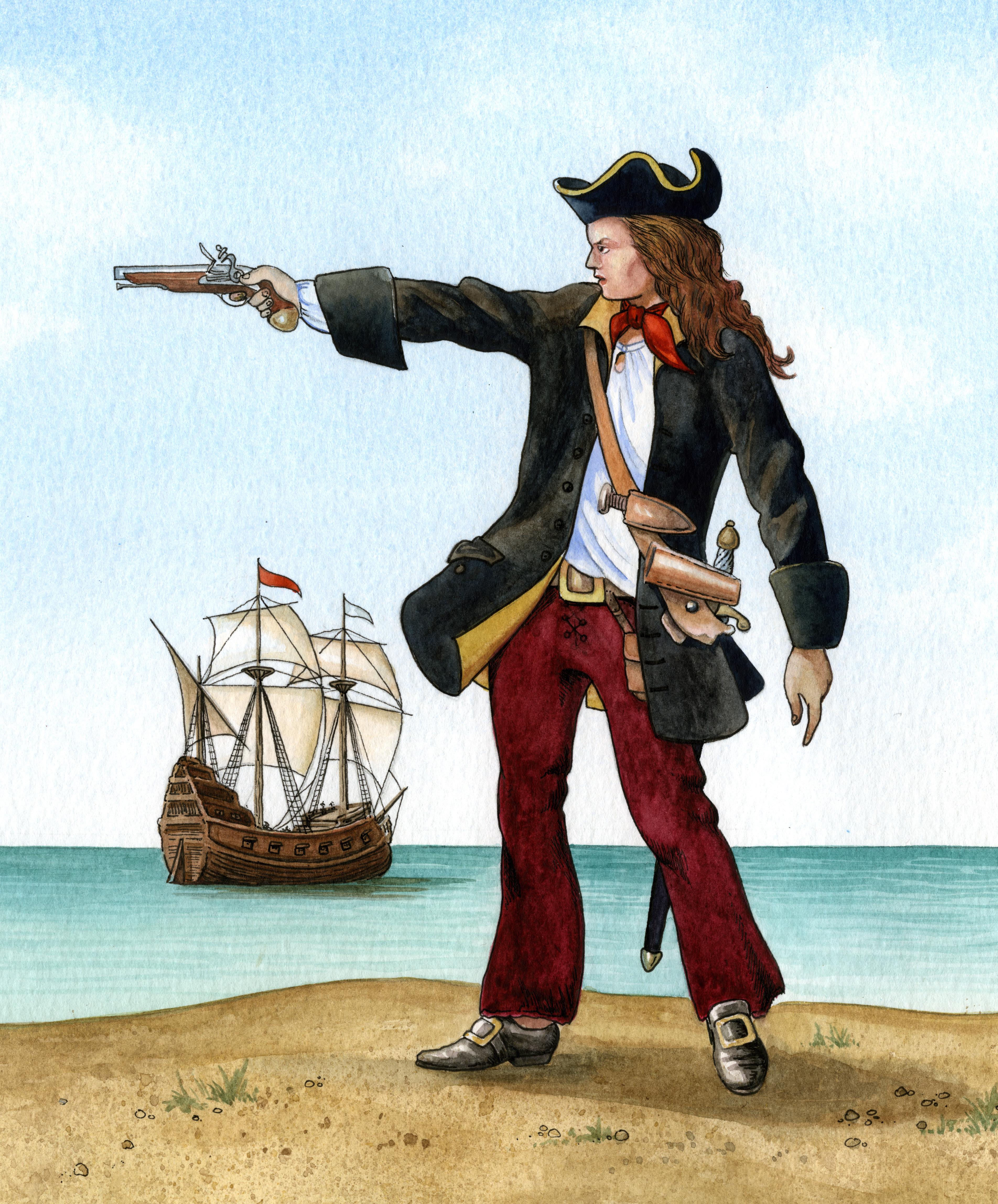 Female pirate lesbian foto 69